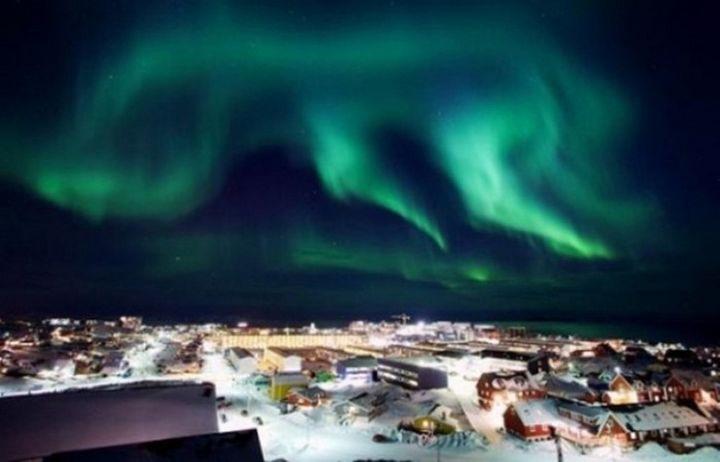 Страны, где можно увидеть красивое северное сияние