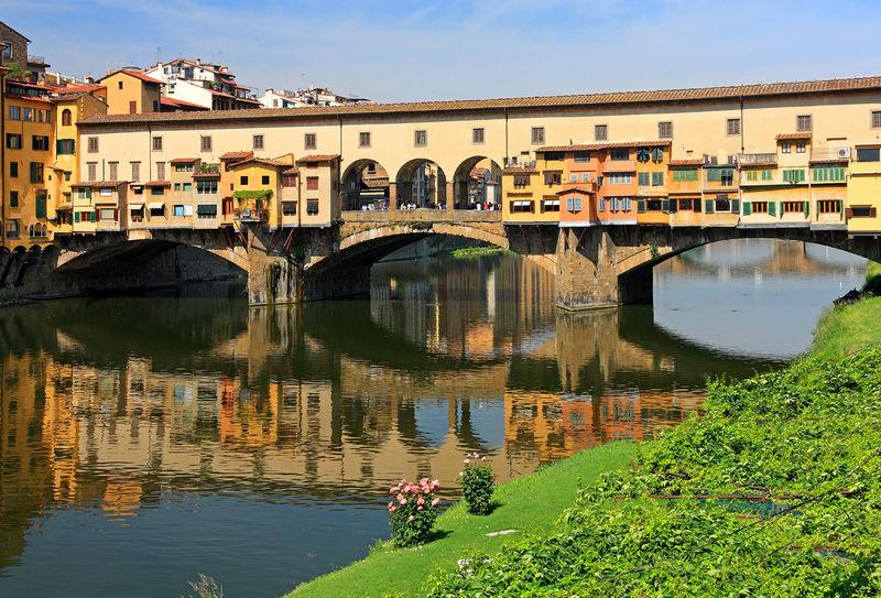 Мост Понте Веккьо (Ponte Vecchio)