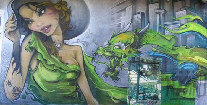 Зелёный дракон. Автор: Ernaste Nasimo.