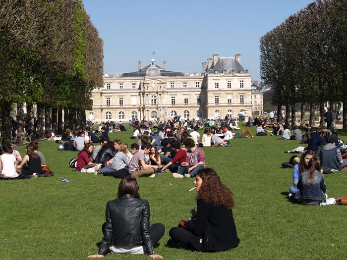 Парк в Париже Фото Amber Lacerta