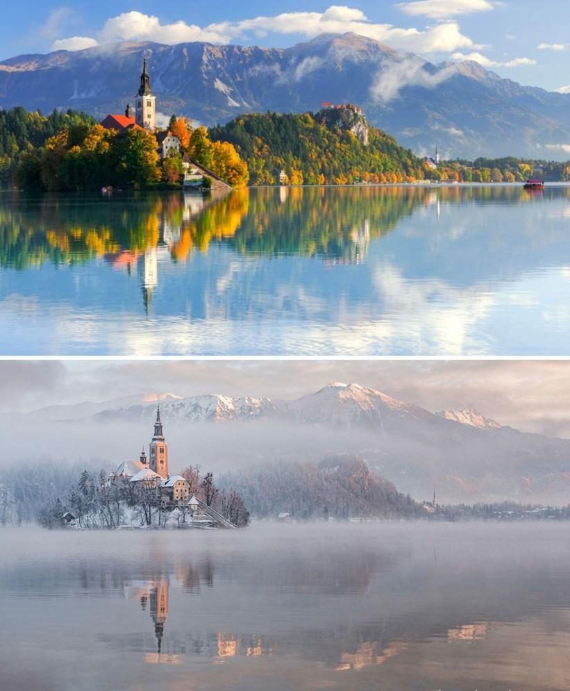 Красивые преображения: до и после зимы