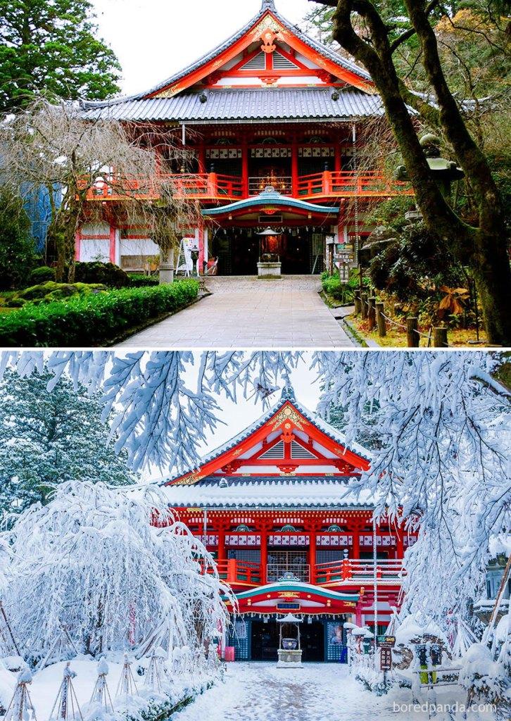 Храм Натадера, Комацу, Япония