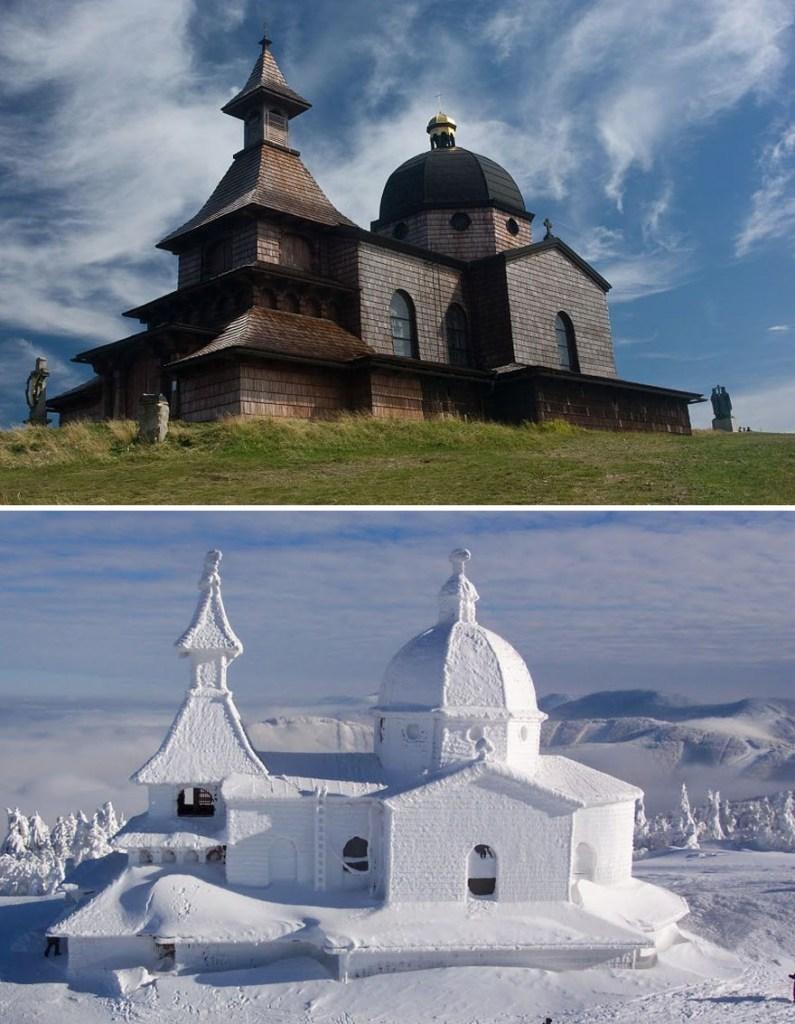Гора Радгошть, Чехия