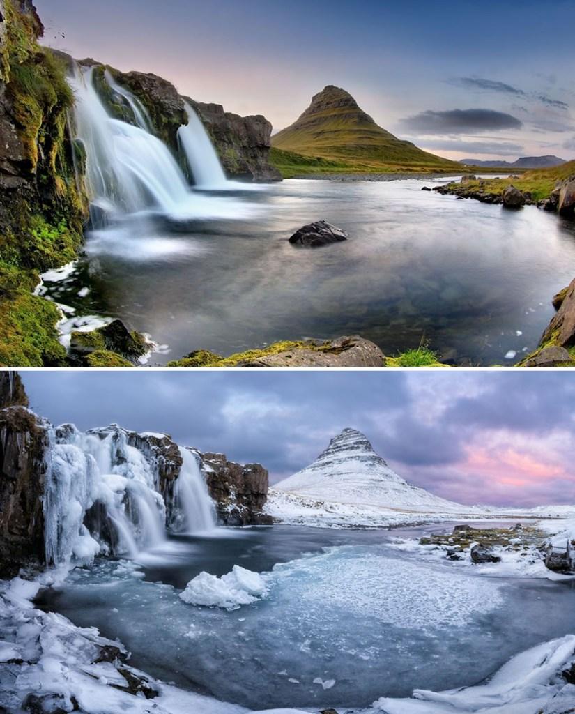 Бассейн Киркьюфелл, Исландия