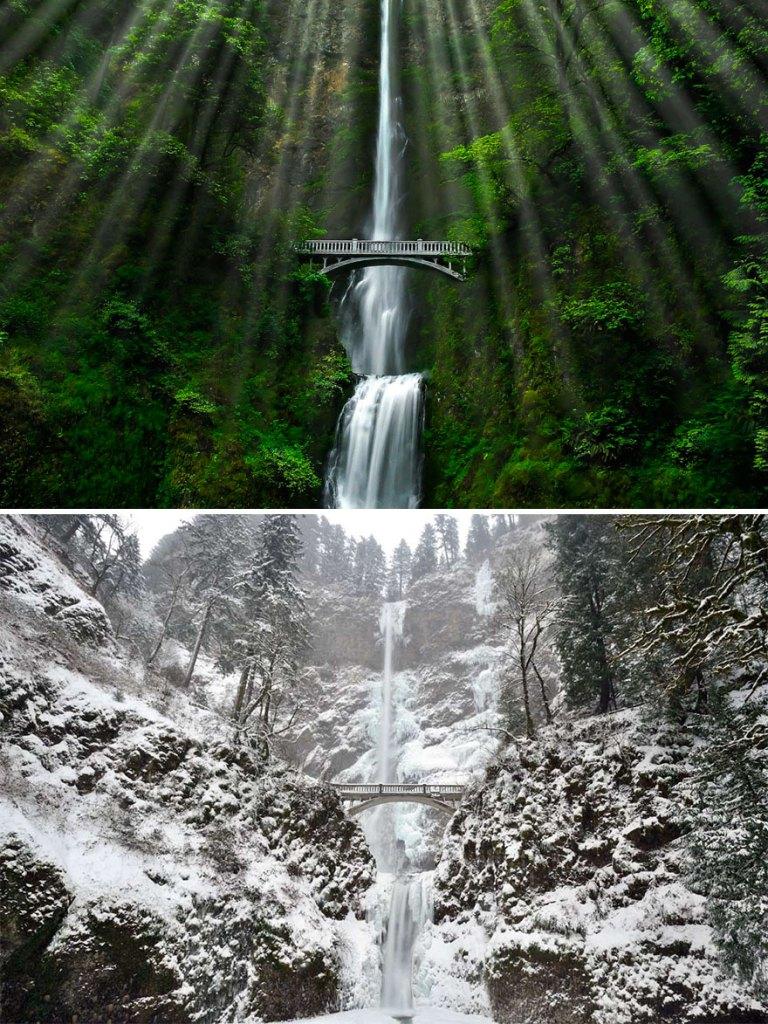 Малтнома-Фолс, Орегон, США