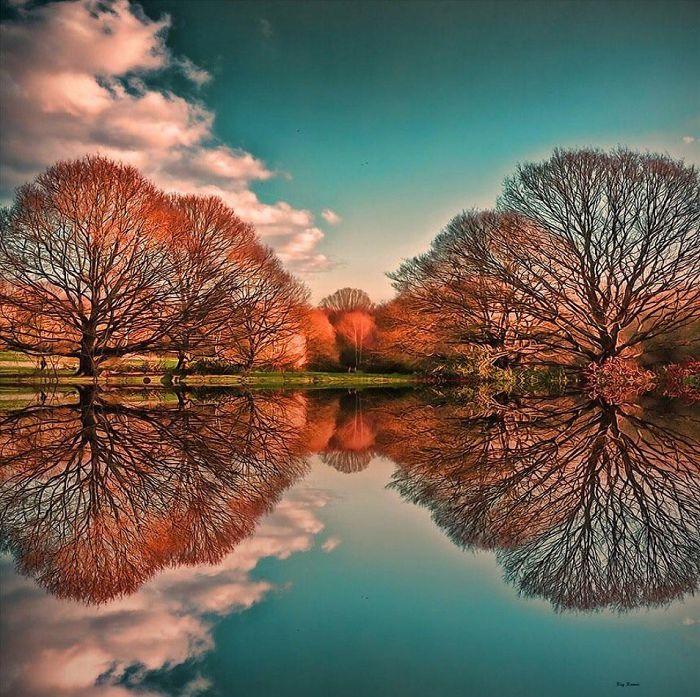 Невероятные фото с использованием отражений