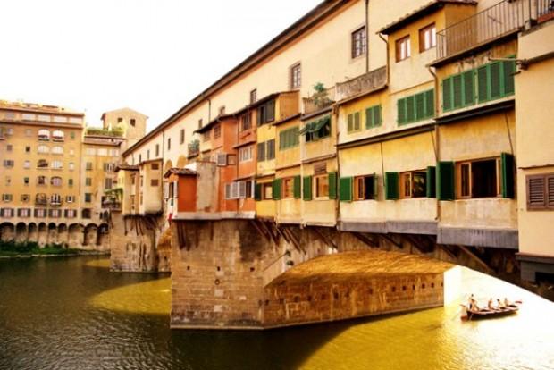 Мост Понте Веккьо, Италия