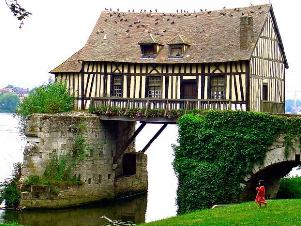 Старая мельница, Франция