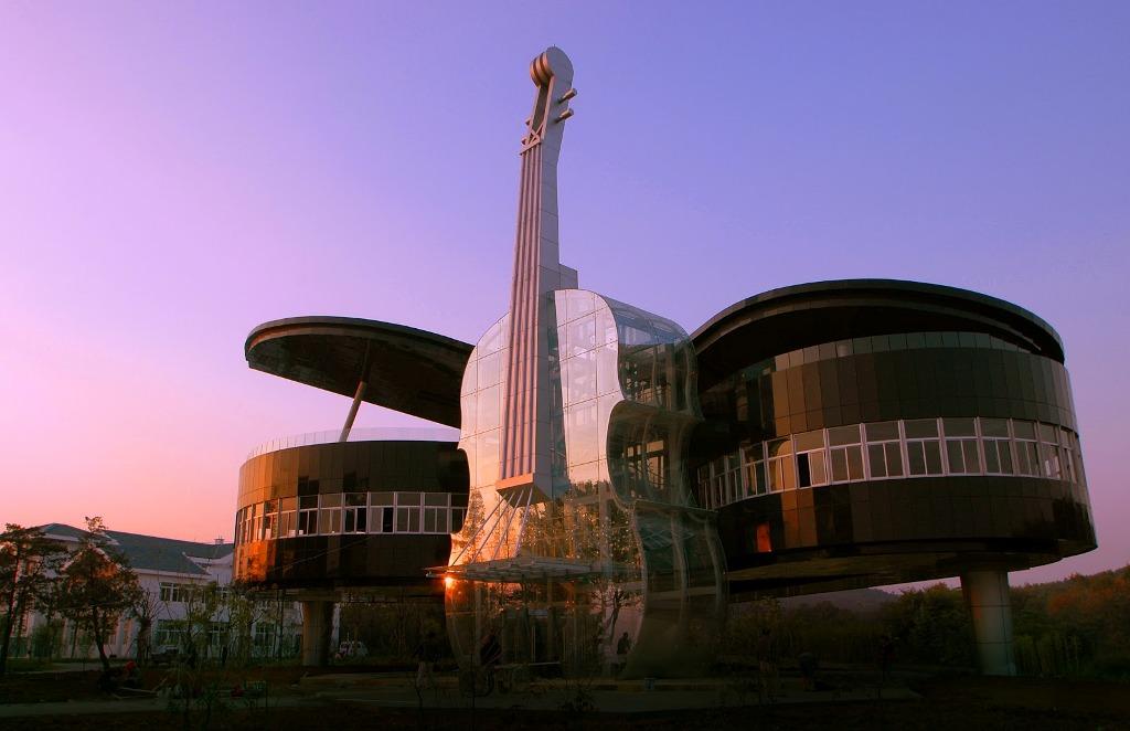 дом-фортепиано в городе Хуайнань