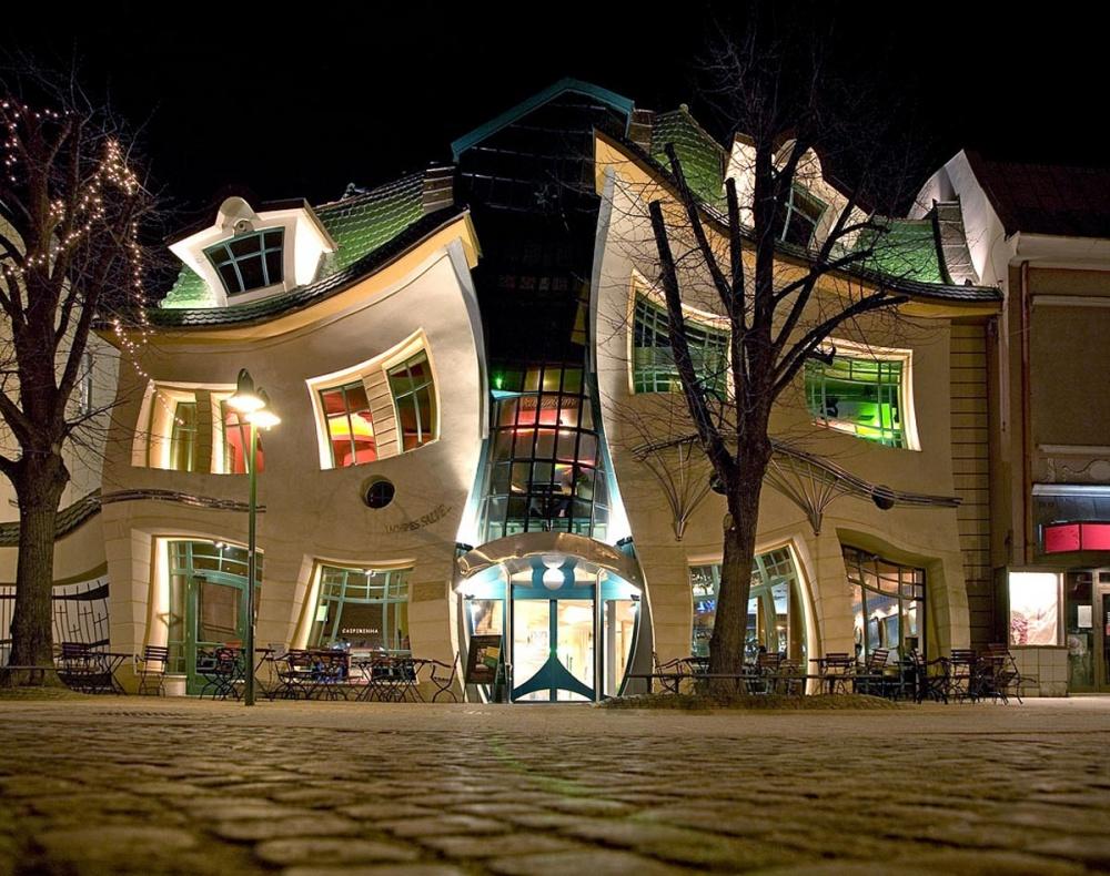 20 самых необычных зданий в мире