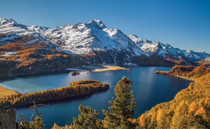 Пейзаж. Швейцария.