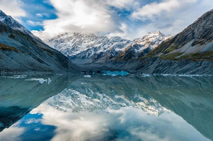 Озеро Хукер (Hooker Lake). Автор фото: Энтони Харрисон (Anthony Harrison).