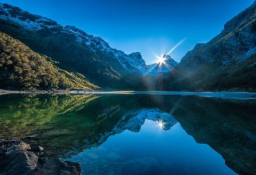 Восход в Ротеберн (Routeburn Sunrise). Автор фото: Энтони Харрисон (Anthony Harrison).